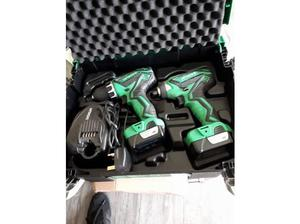 hitachi 10.8 impact driver and 10.8 drill in Stoke On Trent