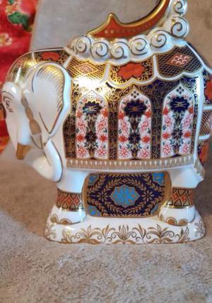 1st quality Royal crown derby imari elephant
