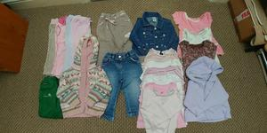 9-12mths Baby Girl clothes bundle - Lincoln