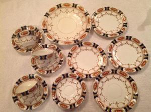 Alexandra pattern S. C & H part set (12 pieces)