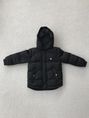 Boys Black Timberland Coat