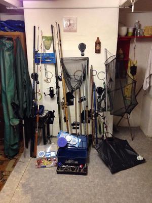 Fishing Gear, Rods, Equipment.