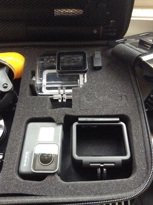 GoPro HERO 5 Action Camera - Black with 64gb card + extras