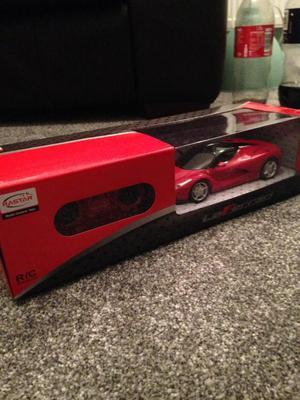 La Ferrari Remote Control Race Car Red Toy Brand New