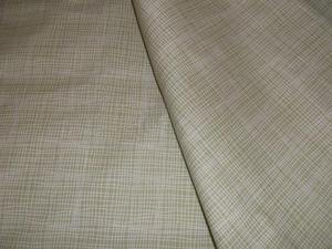 """PAIR OF GREEN PATTERN LINED CURTAINS 66"""" X 57"""""""