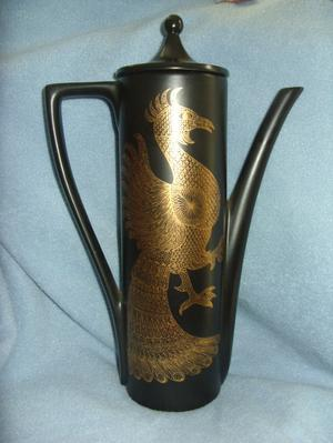 Portmerion Phoenix Coffee Pot by John Cuffley