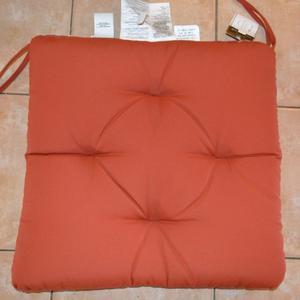 Pottery Barn Sunbrella Solid Tufted Chair Cushion Solid