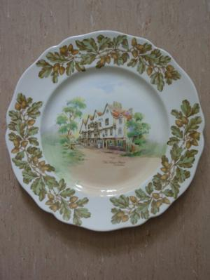 ROYAL DOULTON PLATE CHIGWELL ESSEX