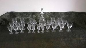 Royal Doulton, Georgian Crystal Glasswear Set
