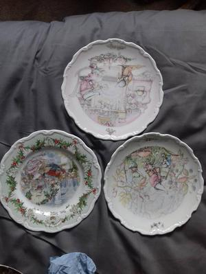 Royal doulton and wedgewood plates