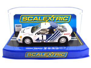 SCALEXTRIC 1:32 C FORD RS200 STIG BLOMQVIST RALLY SWEDEN