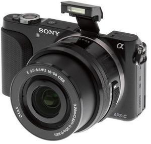 SONY NEX-3N Mirrorless 16.1MP Digital Camera (DSLR)