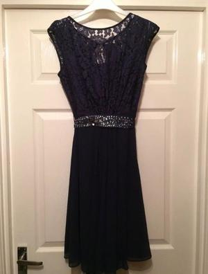 Size 10 navy coast dress new with tags