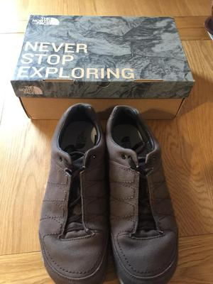 The North Face Men's Hedgehog Mountain Canvas Sneakers. Boxed & New.Size 10