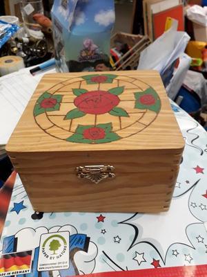 Wooden Jewellery Box - Trinket