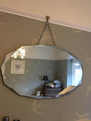 baroque frameless mirror posot class