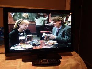 "19""PHILLIPS LCD TV hd ready, freeview inbuilt"