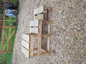 3 step wooden mounting block collection only near Boston Lin