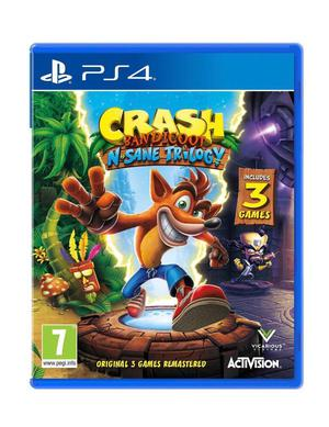 Brand New Still Sealed Crash Bandicoot PS4