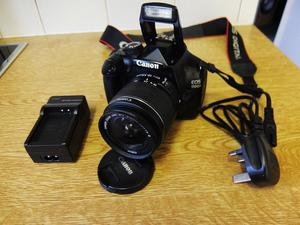 Canon D DSLR with Canon EFS mm Mk3 lens