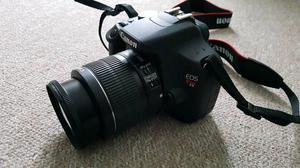 Canon TD) DSLR Camera + IS Lens