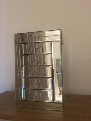 Mirrored Jewellery Box