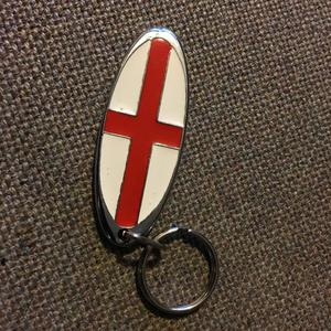 ST. GEORGE KEY RING.