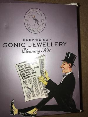 Sonic jewellery cleaning kit. New, never been used.