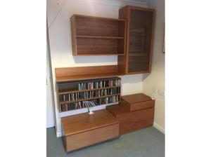 Tapley Teak Display Units, Shelves and Drawers in Brackley