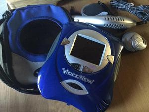 Video Now blue carry case loads of discs working great