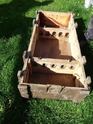 Wooden Ammunition Boxes