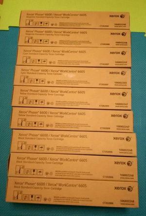 Xerox Toner Cartridges - 3 Black, 2 Yellow, 2 Cyan, 2 Magenta