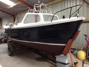 21 ft fishing boat
