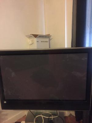 42 inch TV with stand