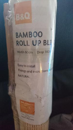 Bambo Roll Up Blind 60cmx160cm