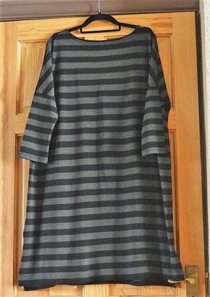 Black & Grey striped dress