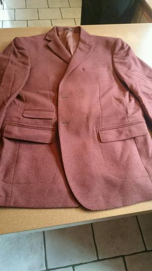 "Brook Taverner Men's Jacket 44"" Pure New Wool"