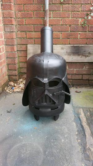 lovely darth vader wood burner 11