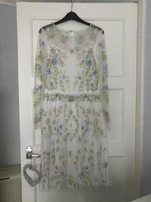 Frock and frill Dress size 12 worn once