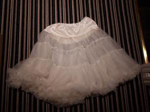 Hell Bunny Cream Petticoat Size L-XXL