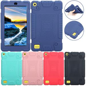 Kids Shockproof Soft Rubber Case Cover For Amazon Kindle