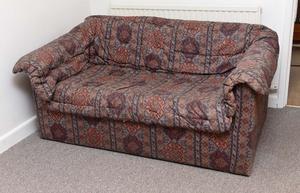 Sofa Bed Settee - single, sprung base