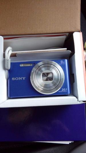 Sony cybershot DSC-W830 digital camera, purple, brand new in box.