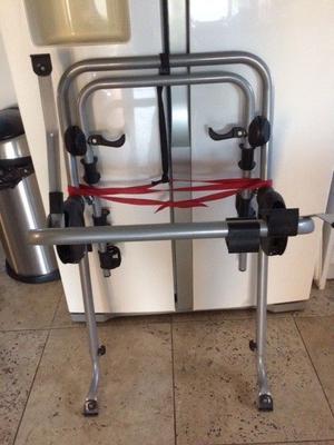 bike rack - 2 bike fitting and suitable for hatchback cars
