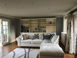 large corner sofa unit