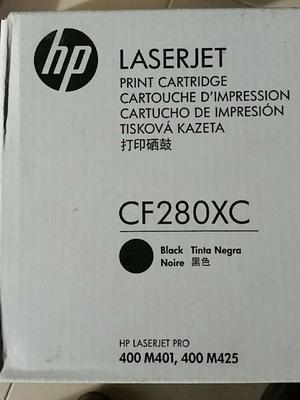 2 x toner Laserjet HPcf280xc