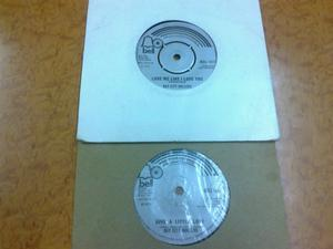 BAY CITY ROLLERS HITS X 2 ON 45 RPM VINYLS