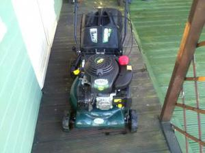 BMC lawn racer rotary petrol mower self propelled