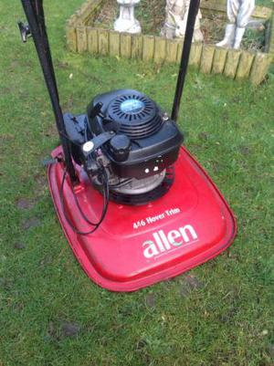 Flymower fitted with a Honda 4 stroke engine