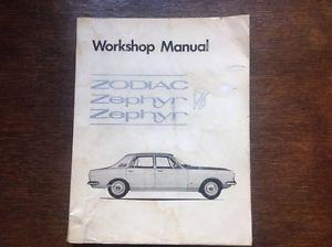 Ford Zodiac / Zephyr / Original Workshop Manual